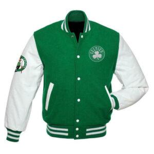 Boston Celtics NBA Green Varsity Jacket