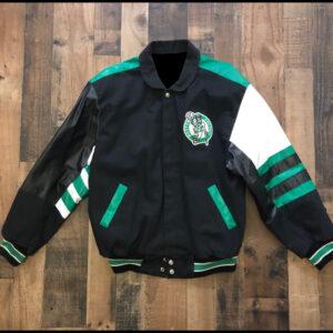 Boston Celtics NBA Jeff Hamilton Varsity Jacket