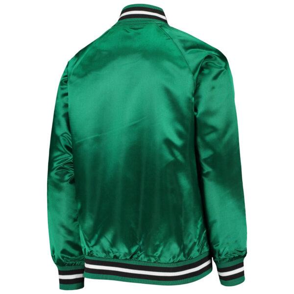 Boston Celtics Satin Raglan Hardwood Classics Jacket