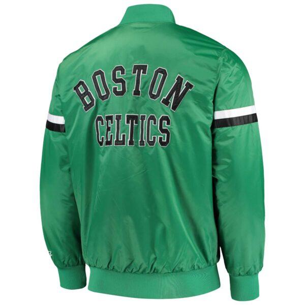 Boston Celtics The Champ Green Satin Jacket