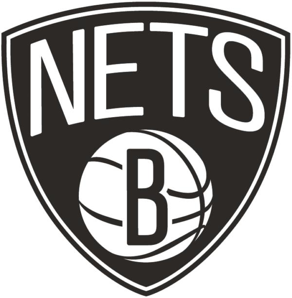 Brooklyn Nets 2012 Pres Alternate Logo V2 Patch