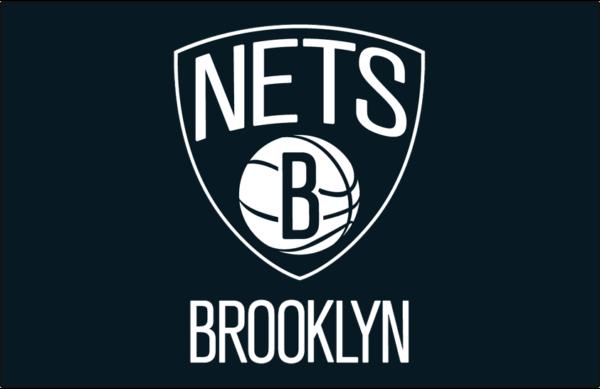Brooklyn Nets 2012 Pres Primary Dark Logo Patch