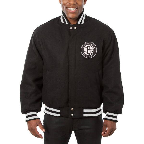 Brooklyn Nets NBA Jeff Hamilton Wool Jacket