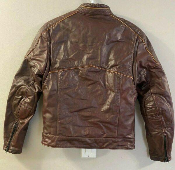 Brown Honda Motorcycle Racing Leather Jacket
