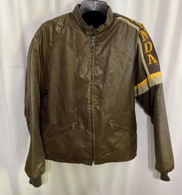 Brown Honda Racing Windbreaker Jacket