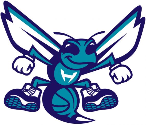 Charlotte Hornets 2014 Pres Mascot Logo Patch