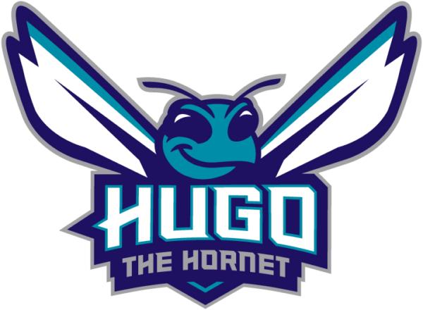 Charlotte Hornets 2014 Pres Mascot Logo V2 Patch