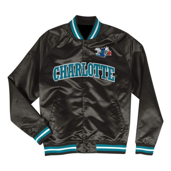 Charlotte Hornets NBA Team Lightweight Satin Jacket