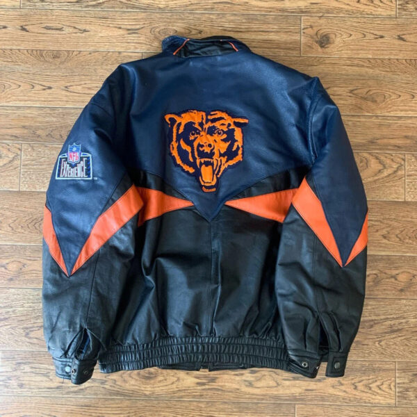 Chicago Bears NFL Experience Pro Player Leather Jacket