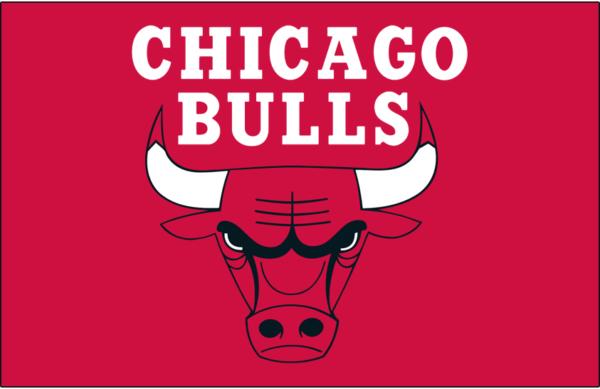 Chicago Bulls 1966 Pres Primary Dark Logo Patch