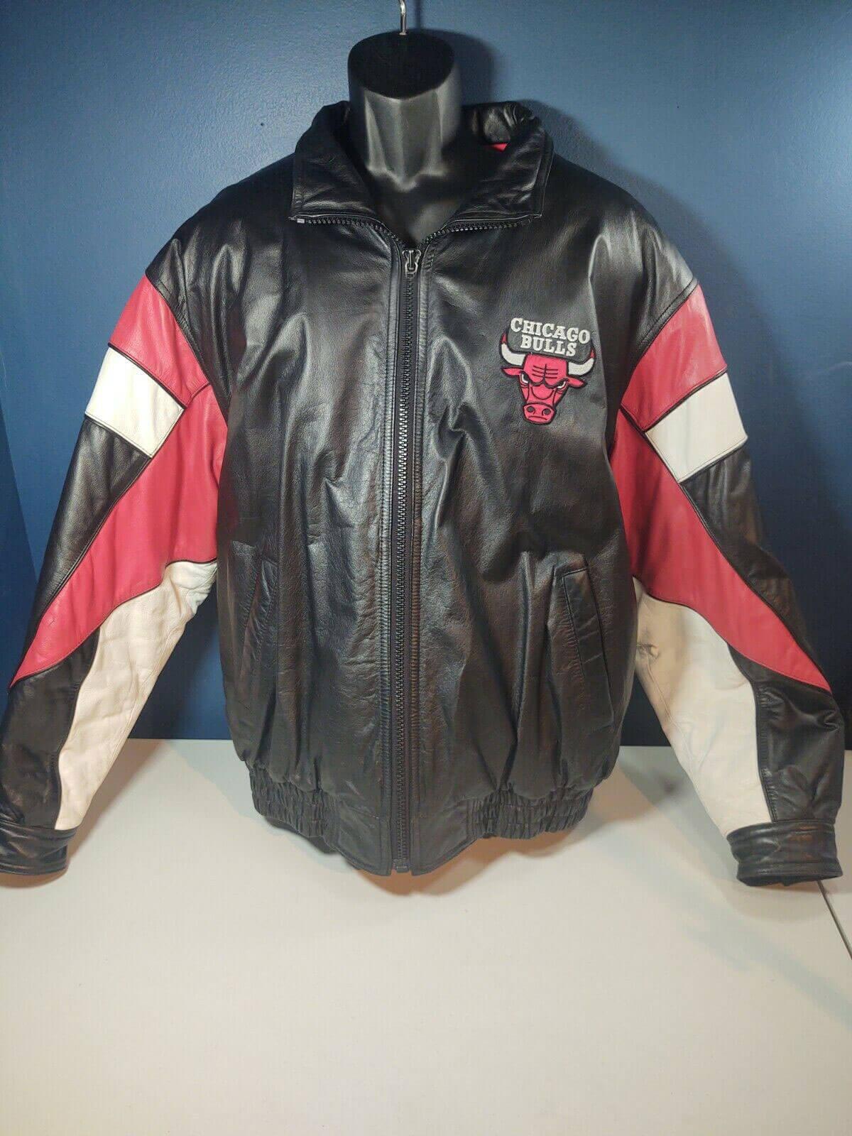 Chicago Bulls NBA Pro Player Leather Jacket
