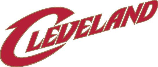 Cleveland Cavaliers NBA Wordmark Logo Patch