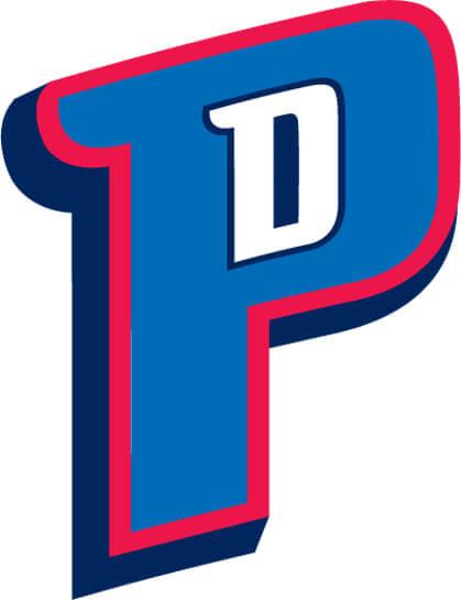 Detroit Pistons 2005 Pres Alternate Logo Patch