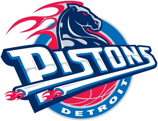 Detroit Pistons NBA Primary Logo Patch