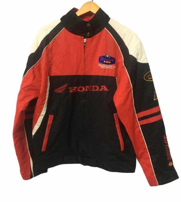 Dunlop Honda Motorcycle Racing Textile Jacket