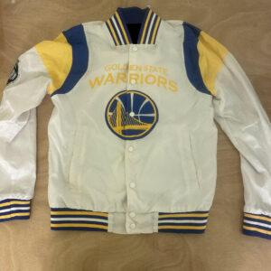 Golden State Warriors Lightweight NBA Basketball Jacket