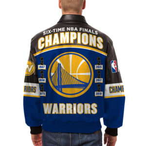 Golden State Warriors NBA Finals Champions Jacket