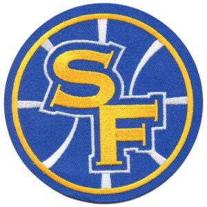 Golden State Warriors Secondary SF Round Logo Patch