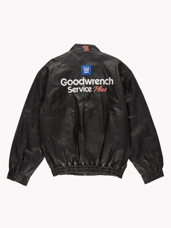 Good Wrench Service Plus Black Leather Jacket