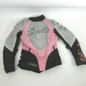 Gray Black Yamaha Motorcycle Joe Rocket Textile Jacket