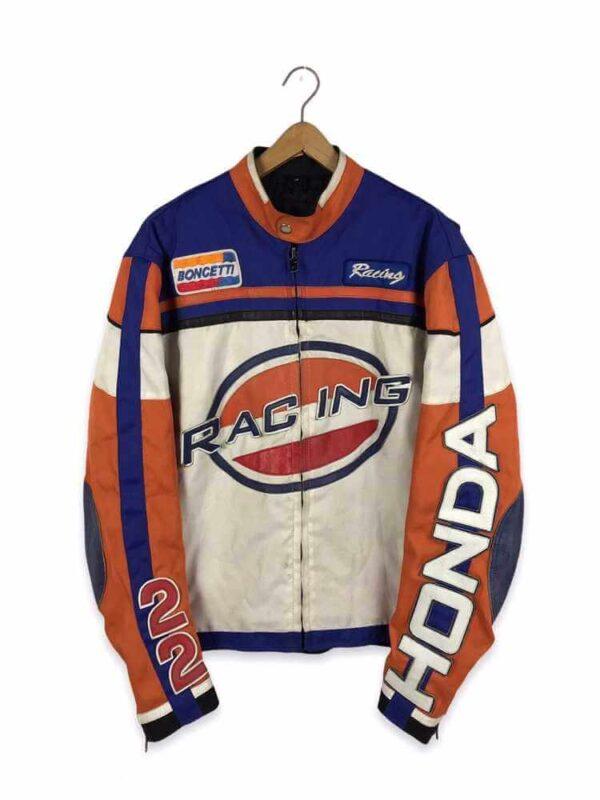 Honda 22 Motorcycle Racing Textile Jacket
