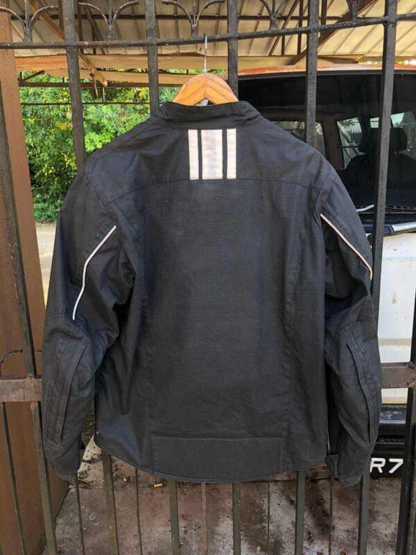 Honda Black Motorcycle Textile Jacket