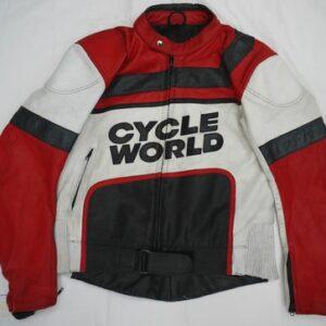 Honda Marlboro Motorcycle Racing Leather Jacket