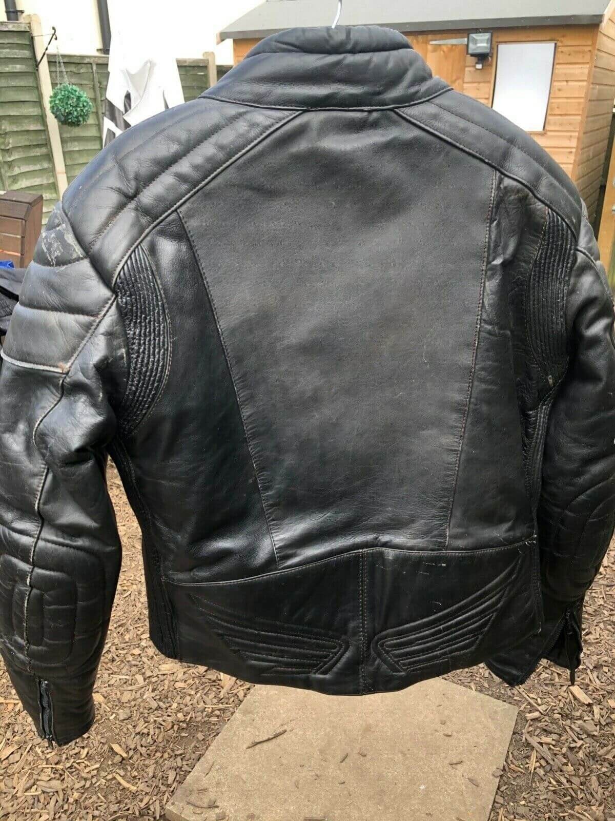 Honda Motorcycle Biker Leather Jacket
