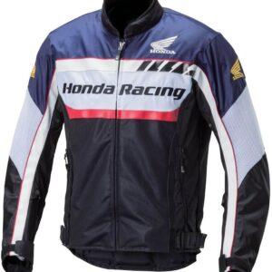 Honda Motorcycle Black And Blue Racing Jacket