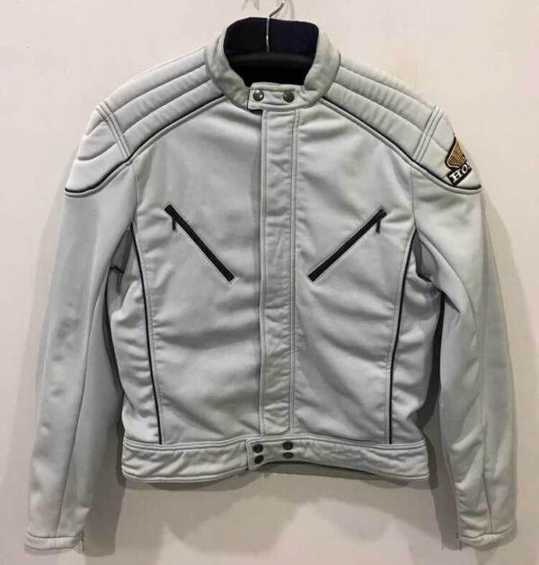 Honda Motorcycle Pale Blue Textile Jacket