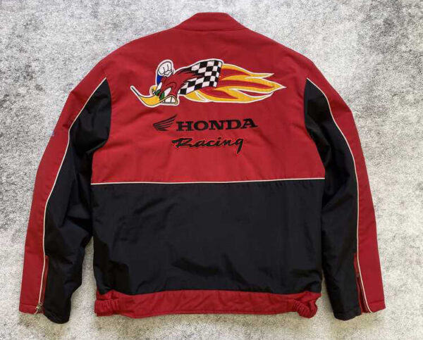 Honda Motorcycle Red Racing Textile Jacket