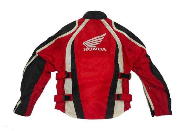 Honda Motorcycle Red Textile Jacket
