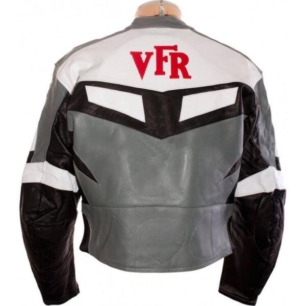 Honda VFR Motorcycle Racing Leather Jacket
