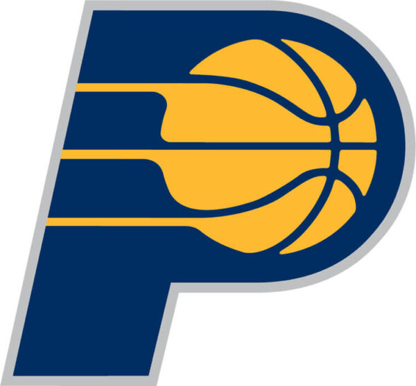 Indiana Pacers 2005 Pres Alternate Logo Patch