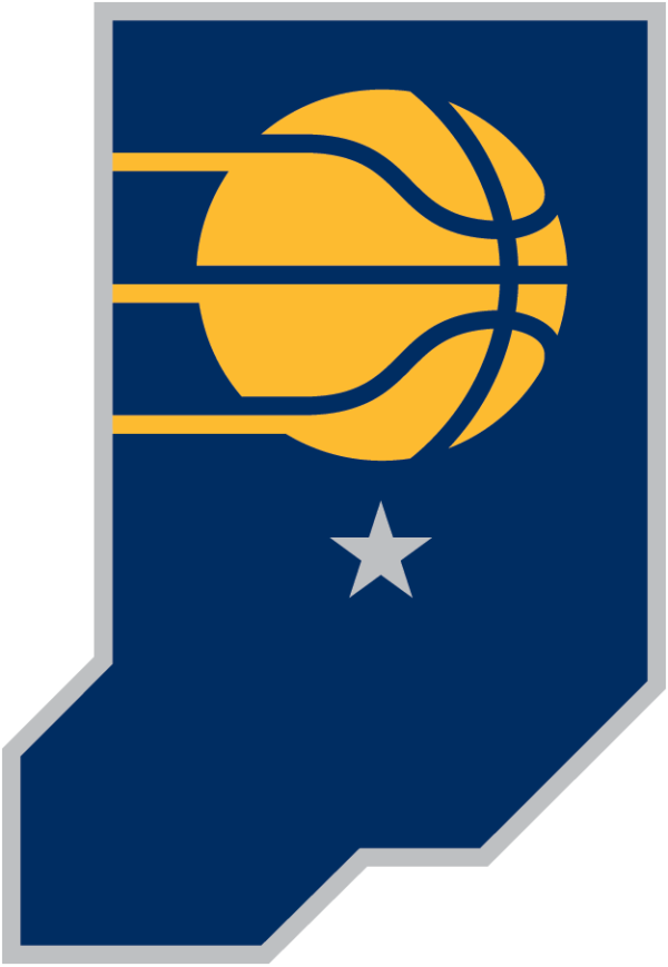 Indiana Pacers 2017 Pres Alternate Logo Patch