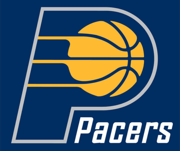 Indiana Pacers NBA Primary Dark Logo Patch