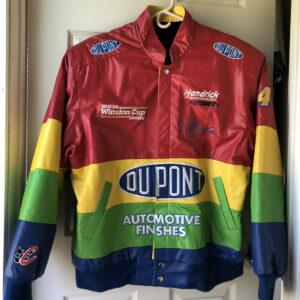 Jeff Gordon DuPont Racing Leather Jacket