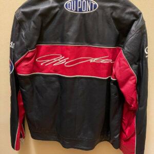 Jeff Gordon NASCAR 24 DuPont Racing Leather Jacket