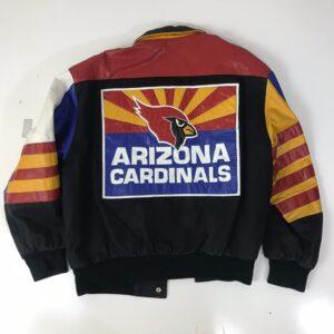 Jeff Hamilton Arizona Cardinals Varsity Jacket