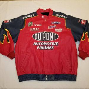 Jeff Hamilton Jeff Gordon DuPont Leather Racing Jacket