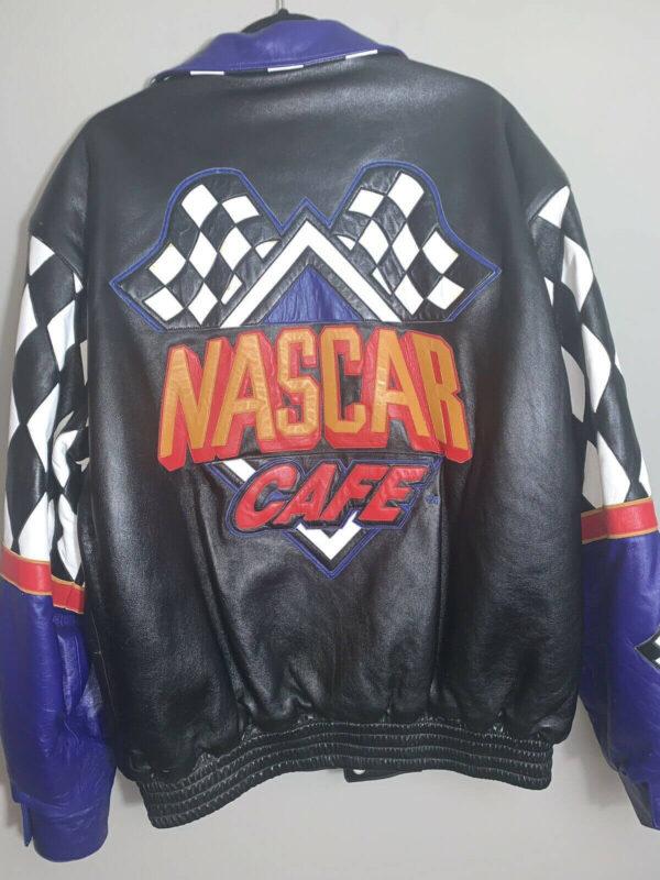 Jeff Hamilton NASCAR Cafe Leather Jacket