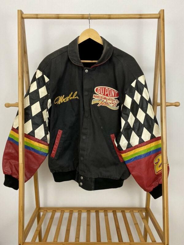 Jeff Hamilton NASCAR Jeff Gordon DuPont Racing Jacket