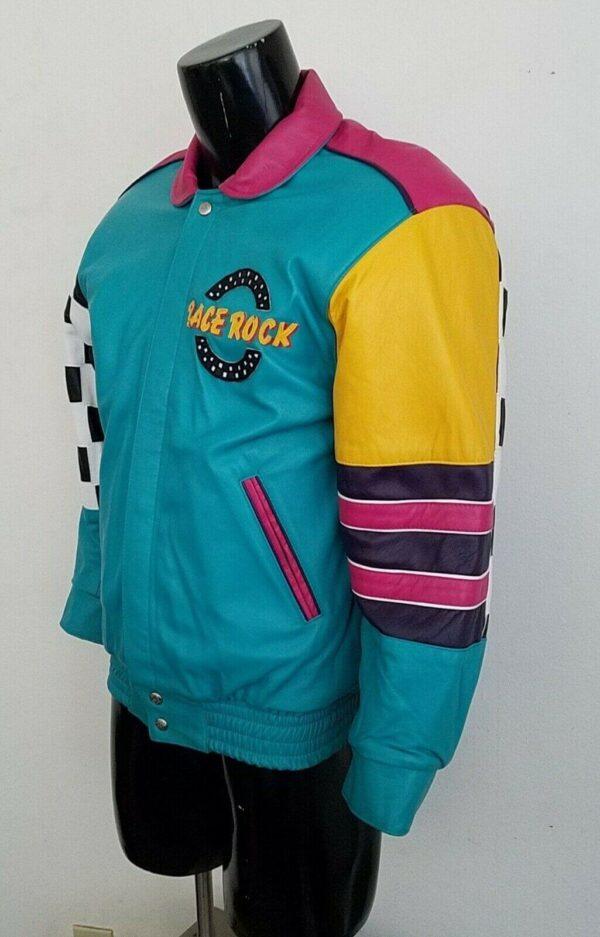 Jeff Hamilton Race Rock Reversible Leather Jacket