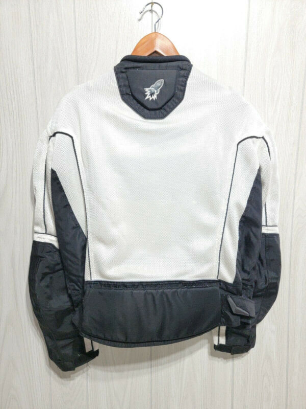 Joe Rocket Honda Motorcycle Gray Textile Jacket
