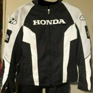 Joe Rocket Honda Motorcycle Racing Textile Jacket