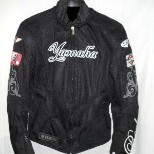 Joe Rocket Yamaha Motorcycle Black Racing Textile Jacket