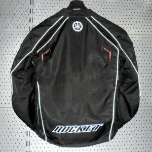 Joe Rocket Yamaha Motorcycle Black Textile Jacket