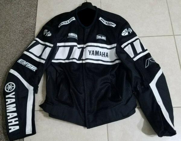 Joe Rocket Yamaha Motorcycle Racing Textile Jacket