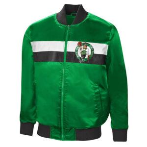 Kelly Green Boston Celtics The Ambassador Satin Jacket