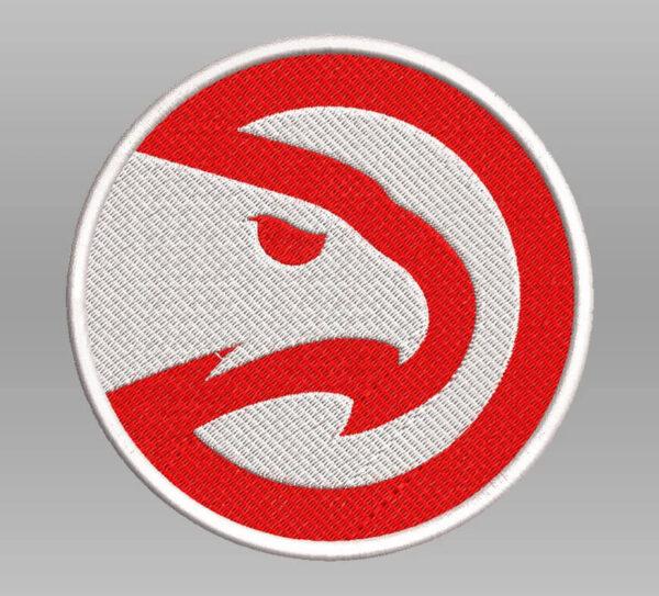 NBA Atlanta Hawks Primary Team Round Logo Patch